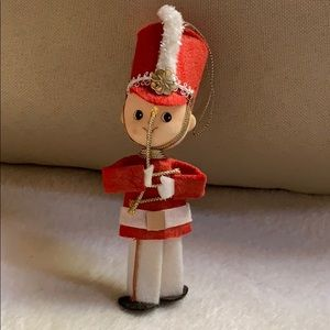 "5"" marching band soldier Christmas ornament Japan"